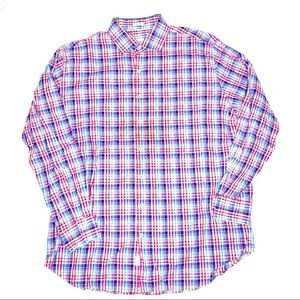 Peter Millar Long Sleeve Dress Shirt Multicolor